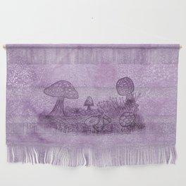 Fungi Meadow Wall Hanging