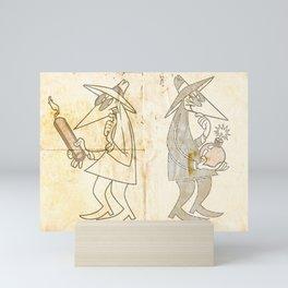 Spy vs. Spy Mini Art Print