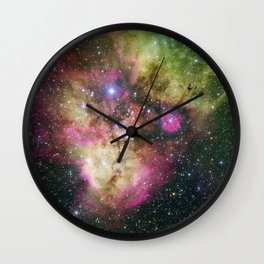 Galaxy NGC 2467 Wall Clock