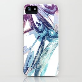 Mussels For Lunch Watercolour iPhone Case