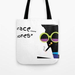 """Grace....Grace Jones"" Tote Bag"