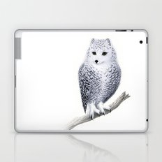Snowy Fowl Laptop & iPad Skin