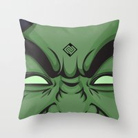 hulk Throw Pillows featuring Hulk by illustrationsbynina