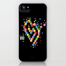 Geek Heart iPhone Case