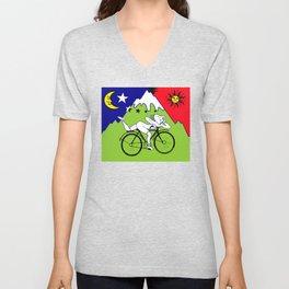 The 1942 Bicycle Lsd Unisex V-Neck