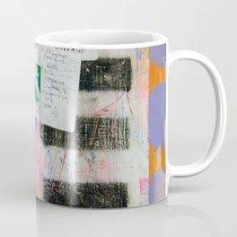 Abstract Mixed Media Compositon V. One Hundo Coffee Mug