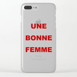 be: Clear iPhone Case