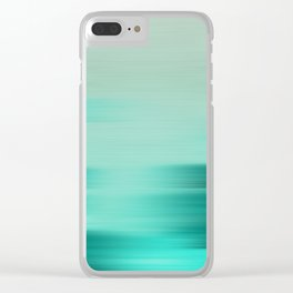 """Abstract Ocean Porstroke (Pattern)"" Clear iPhone Case"