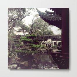 Yuyuan Garden  Metal Print