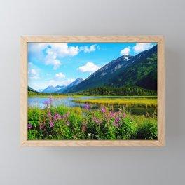 God's Country - Summer in Alaska Framed Mini Art Print