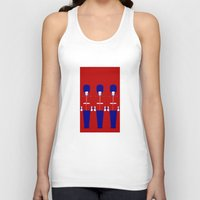 uk Tank Tops featuring UK by Marcus Wild