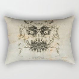 Skulloid I Rectangular Pillow