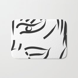 profile minimal sketch Bath Mat