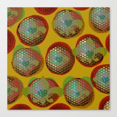 FLORAL BUBBLES Canvas Print