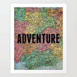 Adventure Print Art Print