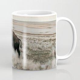 Bison of Antelope ISland Coffee Mug
