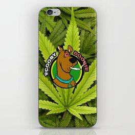 Scooby Doobie 420 Parody iPhone Skin