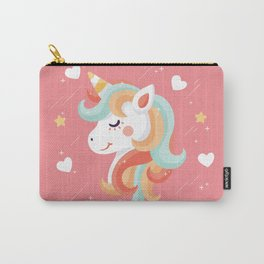 Cutest Unicorn Ever - Pink Carry-All Pouch