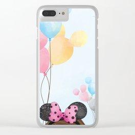Dreams Do Come True Clear iPhone Case
