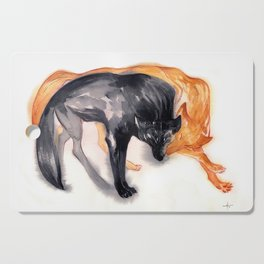 Two Wolves Cutting Board