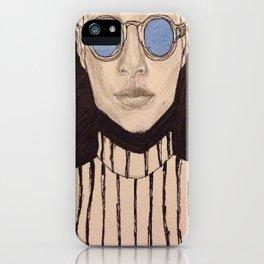 Shady Lady 1 iPhone Case