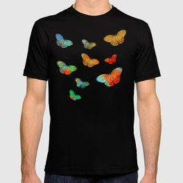 """""""Tropical Spring and butterflies"""" T-shirt"""