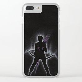 Bow & Arrow Clear iPhone Case