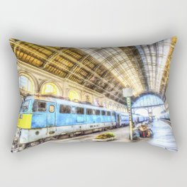 Keleti Railway Station Budapest Art Rectangular Pillow