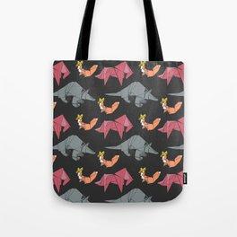 origami-Animal pattern Tote Bag