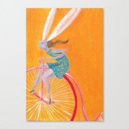 Lady Rabbit Canvas Print
