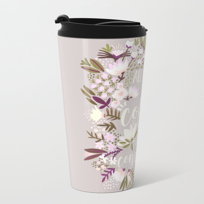 Coffee & Concealer – Spring Palette Metal Travel Mug