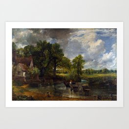 John Constable - The Hay Wain Art Print