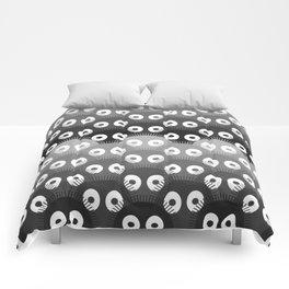 susuwatari pattern Comforters