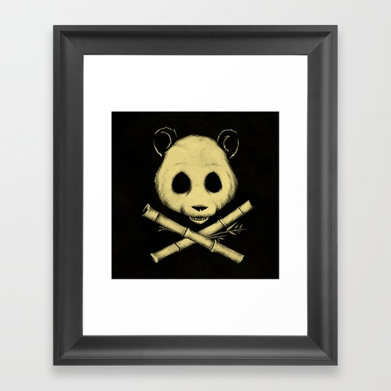 The Jolly Panda Framed Art Print