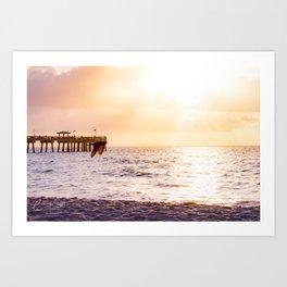 Dania Beach Pier (I) Art Print