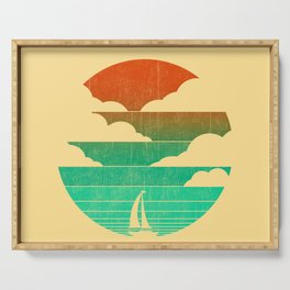 Go West (sail away in my boat) Serving Tray