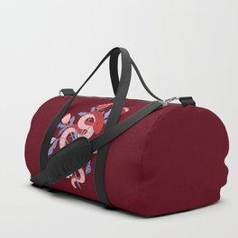 Snake flower Duffle Bag