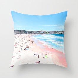 Bondi Beach Fine Art Throw Pillow