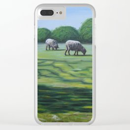 Mount Vernon Sheep Clear iPhone Case