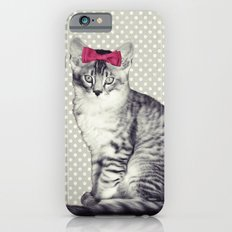 Cat with a Bow Slim Case iPhone 6s