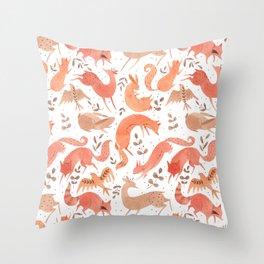 Wild Beasts Throw Pillow