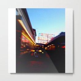 Pike Place Market Metal Print