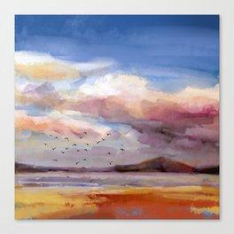 Il mare d'inverno Canvas Print