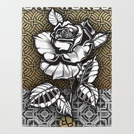 Rubino Metal Rose One World Poster