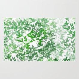 Inspirational Leafy Pattern Rug