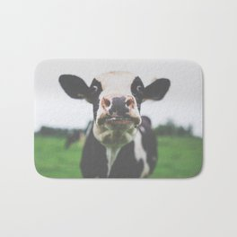 Funny Cow Photography print Bath Mat