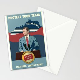 Protect Your Team Stationery Cards
