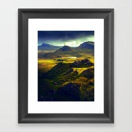 The Mountain Men Framed Art Print