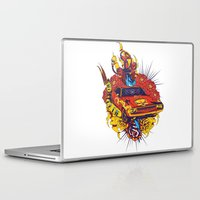 muscle Laptop & iPad Skins featuring Muscle by Tshirt-Factory