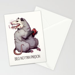 Beg No Man Pardon Stationery Cards